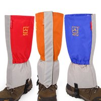 Wholesale wholesale foot wear for sale - Protect Set Foot Outdoors Waterproof Sand Gaiters For Men And Women Super Light Various Colors Wear Resisting Durable mx J1