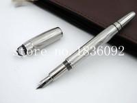 Wholesale Stainless Steel Fountain Pen Nib - Wholesale-Starwalke Stainless Stripe M Nib Fountain Pen