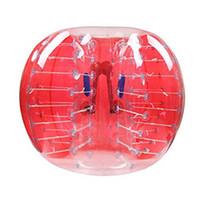 şişirilebilir zorb toptan satış-Kabarcık Futbol Zorb Topu Futbol Takım PVC Popüler in İngiltere Vano Inflatables Kalite Garantili 1.2 m 1.5 m 1.8 m Ücretsiz Kargo