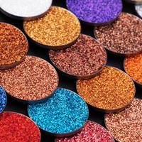 sombras brilhantes venda por atacado-Glitters Única Sombra de Diamantes Rainbow Make Up Sombra Cosméticos Pressionados Glitters Sombra de Olho ímã Paleta de 31 cores para Opção sombras