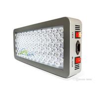 серия осветительных приборов оптовых-DHL Advanced Platinum серии P300 300 Вт 12-полосный LED светать AC 85-285 в двойной светодиодов-двойной VEG цветок полный спектр светодиодные лампы освещения