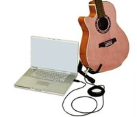 Wholesale Usb Guitar Cable 3m - Wholesale 3M USB Guitar Bass To USB Link Cable Adapter PC MAC Recording USB Guitar Cable
