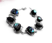 Wholesale Tungsten Wear Plates - 5 pcs Fashionable and popular natural abalone shell bracelet, lady's delicate bracelet Simple Adjustable Bezel Set Contemporary Daily Wear