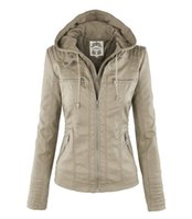 Wholesale Ladies Leather Hooded Jackets - Autumn Winter 6XL Plus Size Faux Leather Jacket Women Hooded Warm Long Sleeve Ladies Fashion PU Jacket
