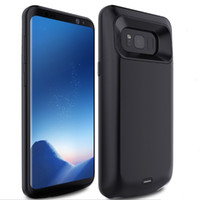 Wholesale External Backup Battery Galaxy - Brand New Ultra Slim Magnetic External Backup Battery Charger Case with For Samsung Galaxy S8 S8 Plus