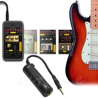 Vente en gros- 1 PC Guitar Effect Multimédia Instrument Adapter Pièces de guitare Guitar interface converter