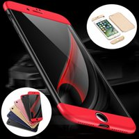 Wholesale Iphon5 Cases - New Luxury Ultra-Thin Hybrid Shockproof Armor Hard Case Cover For iPhone 7  6S plus iphon5 iphon 5s