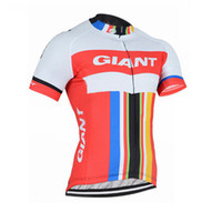 Wholesale Mtb Shorts Giant - New Giant Team Men Cycling Clothing Bike jersey Bicycle Short Sleeve shirt Cycling Jersey summer quick dry mtb maillot ropa ciclismo A1303