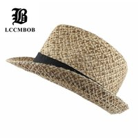 Wholesale wholesale capes for women - Wholesale- [FLB] Pierced sun beach hats for women Korean summer straw sun hat jazz hats for girls bone aba reta capes for women