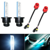Wholesale Auto Xenon Hid Conversion - LEEWA Car Auto 35W D2S Xenon HID Bulbs 4300K-12000K + 2pcs Adapters Replacement Bulbs #2078