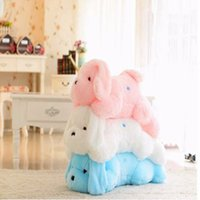 Wholesale Luminous Pillow Teddy - Wholesale- 50cm Colors Change Kawaii Teddy Dog Luminous Led Night Light Plush Toys Pillow Cushion For Children Party Birthday Gift
