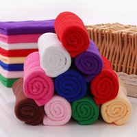 Wholesale Cheap Hand Face Towels - free shippingWholesale cheap 30*70cm microfiber high absorbent dry hair towel solid 9 colors quick dry microfiber hair towels