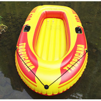 Wholesale Kayak Inflatable - Wholesale- 1 person Inflatable Boat Fishing PVC Kayak Floating Pool Beach Sea Toys Swimming Accessories Outdoors