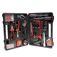 Wholesale Wholesale Portable Tool Boxes - 32Pcs Set Assembly Tools Hardware Repairing Tools Cars Travel Tool Portable Tool Box High Grade Tools Kits 39*36*56.5Cm