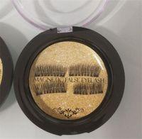 ingrosso prezzo delle labbra 3d-Top Quality Doppia Magnetic Eye Lashes 3D visone riutilizzabile Fasle ciglia senza colla Uso prezzo di fabbrica DHL Ship