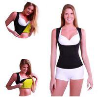 Wholesale Women S Cami - Women Waist Bust Shaper Cami Vest Slimming Thermo Cami Cinchers Body Shaper Tummy Slimmer Shaper Vest LJJO1376