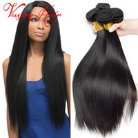 Kinky Straight Weave Bulk Hair Extensions 3 lots Lot Indian Hair Weaves À vendre Natural Black Indian Hair Bundles for Wholesale