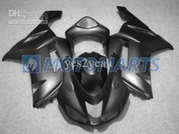 Whole Gloss black carenagem kit para KAWASAKI Ninja ZX6R 07 08 ZX-6R 07-08 ZX 6R 2007 2008 6R 636 carenagens set + 7gifts