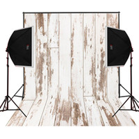 Wholesale Vinyl Scenic Background - dusty beige wood photo background for baby newborn studio props camera fotografica digital cloth vinyl photography backdrops