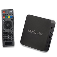 Wholesale Enjoy Tv - 2017 New MXQ-4k Android TV Box Support UHD 4K Dlna Miracast Enjoy 3D Movies Games Surffing On TV Quad core Cortex A7