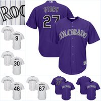 Boys black moll - Youth Colorado Rockies Custom Jersey Jake McGee Sam Moll Jason Motte Scott Oberg Baseball Jerseys