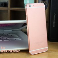Wholesale Gold Sticker Full Body - Rose Gold Case Sticker DIY Rose Gold Back Back Card Sleeves Screen Protector for iphone 6 6s   6plus   6s plus