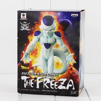Wholesale dragon ball z frieza - Dragon Ball Z Freeza Frieza Freeza Figure Toy Frieza PVC Figure with Box 20cm
