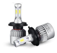Wholesale Hyundai Lamps - S2 H4 LED Headlight Hi-LoBeam Car LED Light Bulb Auto Head Lamp 6500k 8000LM LED AUTO FOG LAMP Audi Hyundai Kia VW Toyota Nissan