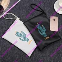 Wholesale Wholesale Mini Cacti - Cactus Leather Hand Bag Shoulder Bag Printing Korean Female Women Bags Women PU Messenger Bags Top quality lady fashion mini bags