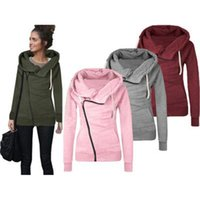 Wholesale Low Price Women S Coat - Wholesale- Low Price Women Casual Long Sleeve Hoody Hoodie Hooded Pullover Sweatshirt Jumper Coat Top