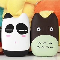 Wholesale Bank Power Iphone Cute - 18650 3D Cute Cartoon Power Bank Portable Charger Battery For Iphone Mobile Cell Phone Xiaomi Small Battery Charger Powerbank