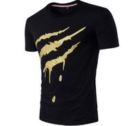 Wholesale cool printed tshirts for sale - 3D Printed Tshirts Men Summer Cool Design Fashion Short Sleeved Tops O neck Tees