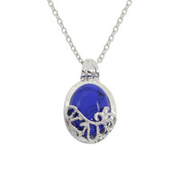 Wholesale Vampire Diaries Movie - Hot The Movie Vampire Diaries Elena Necklace Natural Stone Necklaces & Pendants Women's Choker Necklace Jewelry Wholesale Colar