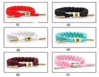 Wholesale Gold Id Bracelets For Men - The little lion RastaClat star weave lace bracelets bracelets for men and women lovers bracelet