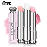 Wholesale Hot Professional Lip Balm With Charm Color For Lip Care Fade Lip Line Color Change Lipstick