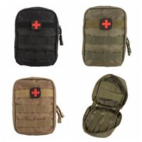 Bagno accessorio MOLLE Sistema Medico Bag Tattico EMT Medical First Aid Kit IFAK Accessori Militari