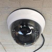 Wholesale Dome Color Cctv - 1200TVL 1 4 CMOS COLOR IR CUT 3.6MM LENS DOME CCTV HOME SECURITY CAMERA VIDEO