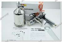 Wholesale Free Ship Devilbiss JGX Professional Painting Spray Gun Gravity Feed mm with cup