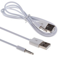 Enchufe Micro Usb Jack Baratos-Jack de enchufe de audio AUX de 3,5 mm a cable de carga USB 2.0 macho Cable adaptador