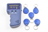 Wholesale Rfid Reader Writer 125khz - 125KHz RFID ID Card Reader & Writer Copier Duplicator Programmer + 5pcs Writable EM4305 T5577 Tags Access Control