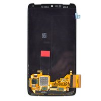 Wholesale Droid Capacitive - For Motorola Droid turbo Xt1254 LCD Display Screen Touch Digitizer Assembly With Frame free shipping For Motorola Droid turbo XT1254 LCD