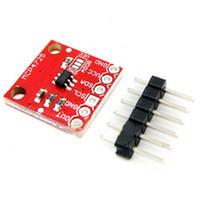 Wholesale I2c Dac - 5pcs MCP4725 12Bit I2C DAC Digital Converter Module Digital To Analong EEPROM Development Board For Arduino