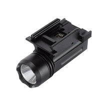 Quick Release Tactical Led Strobe Lanterna Cree para Glock 17 19 20 21 22 23 20mm Weaver ou Picatinny Rail Glock Acessórios