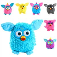Wholesale Wholesale Furby Toys - 36pc Furby Boom Plush Toy Talking Phoebe Firbi Elves Recording Pelucia Electronic Toys Gift for Kids Children Christmas free ship