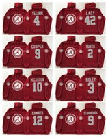 Wholesale Men S Sleeveless Jackets - Alabama Crimson Tide Red Men Jerseys 2 Jalen Hurts 9 Bo Scarbrough 3 Ridley 10 A.J McCarron 12 Joe Namath Hoodie Hooded Sweatshirt Jackets