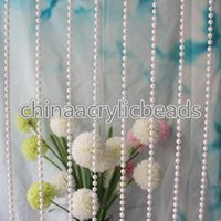 Atacado 12MM plástico ABS Pérola Bead Garland Faux Pearl Beaded Trim para Costura Craft Wedding Table Centerpiece Bolo Decoração