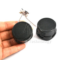 Efficacité noire Pas Cher-Wholesale- 2016 Professional Top Quality 2 pcs Mini Portable 500W High Efficiency Super Power Haut-parleur Haut-parleur Tweeter pour voiture noir