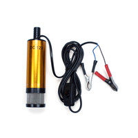Wholesale 12V DC Diese Fuel Water Oil Car Camping fishing Submersible Transfer Pump