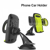 Wholesale Support Cars Iphone - Rock Mobile Car Phone Holder Stand Adjustable Support 6.0 inch 360 Rotate For Iphone 6 Plus 5s Samsung galaxy note 7 S6 s7 edge