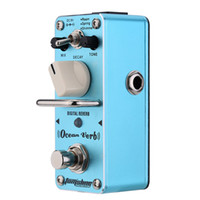 Wholesale Effect Power - AOV-3 OCEAN VERB Mini Digital Effect Guitar Effect DC9V Power Supply Aroma Pedal Effects CE ROHS Free Ship !!!